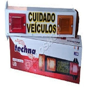 Sinalizador de garagem led tech SI003