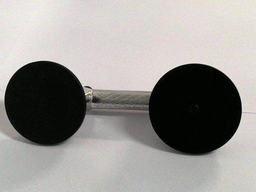Ventosa dupla de alumínio - 2 unidades