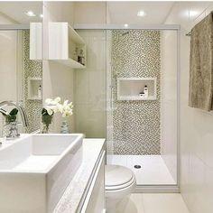 Box de Vidro para Banheiro 1,90x1,00m 8mm Cromado