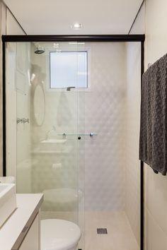 Box de Vidro para Banheiro 1,90x1,00m 8mm Preto