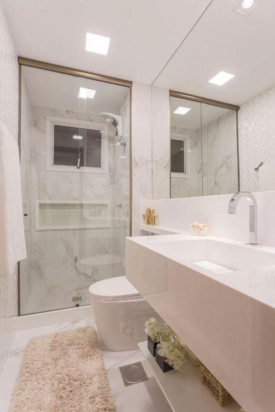 Box de Vidro para Banheiro 1,90x1,30m 8mm Bronze
