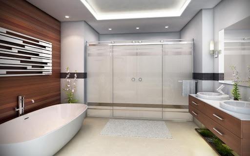 Box Light para Banheiro 1,90x1,10m 8mm Cromado