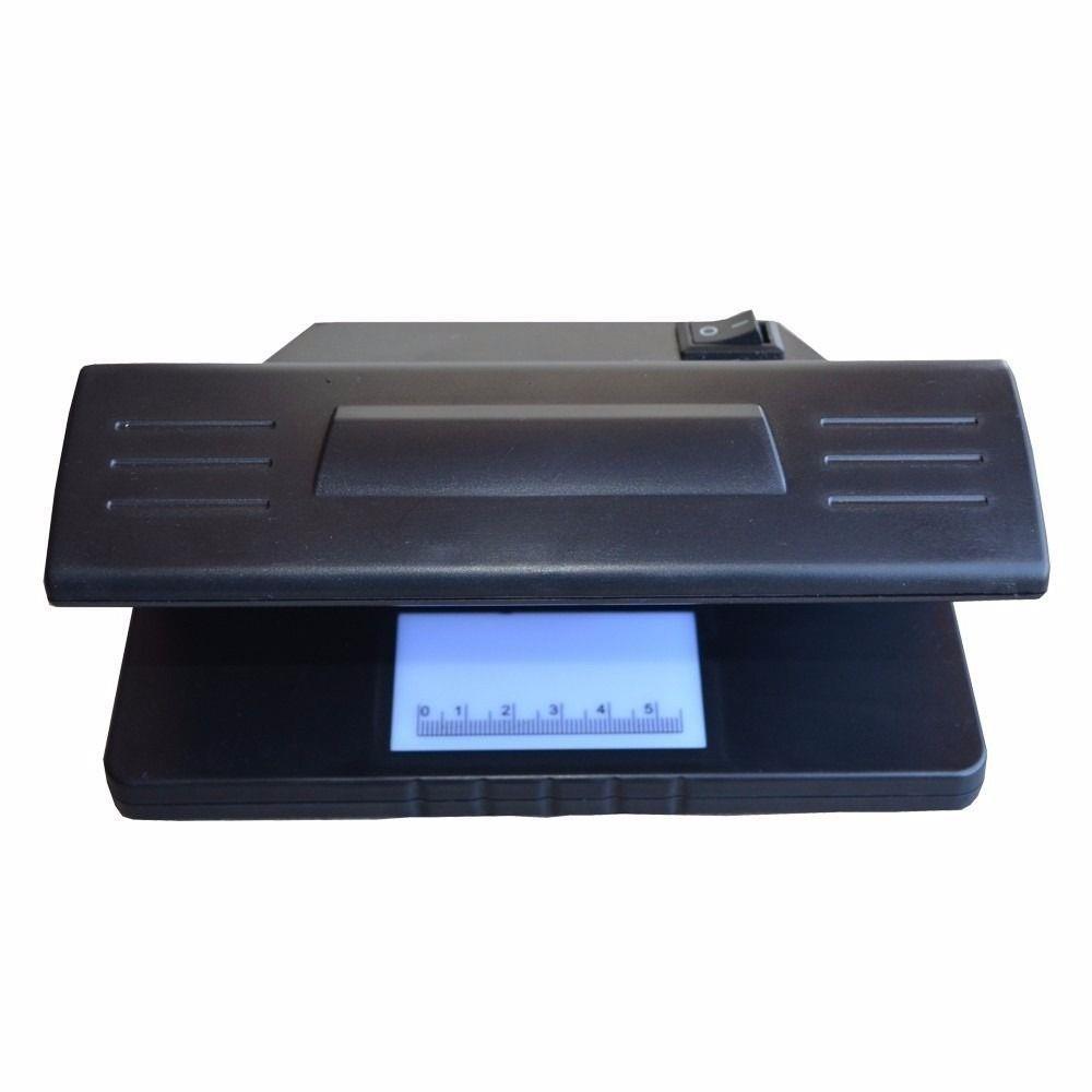 Detector De Dinheiro Falso UV Identificador Notas Teste Cedula