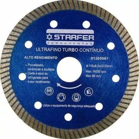 Disco diamantado Starfer para piso porcelanato ultra fino/67