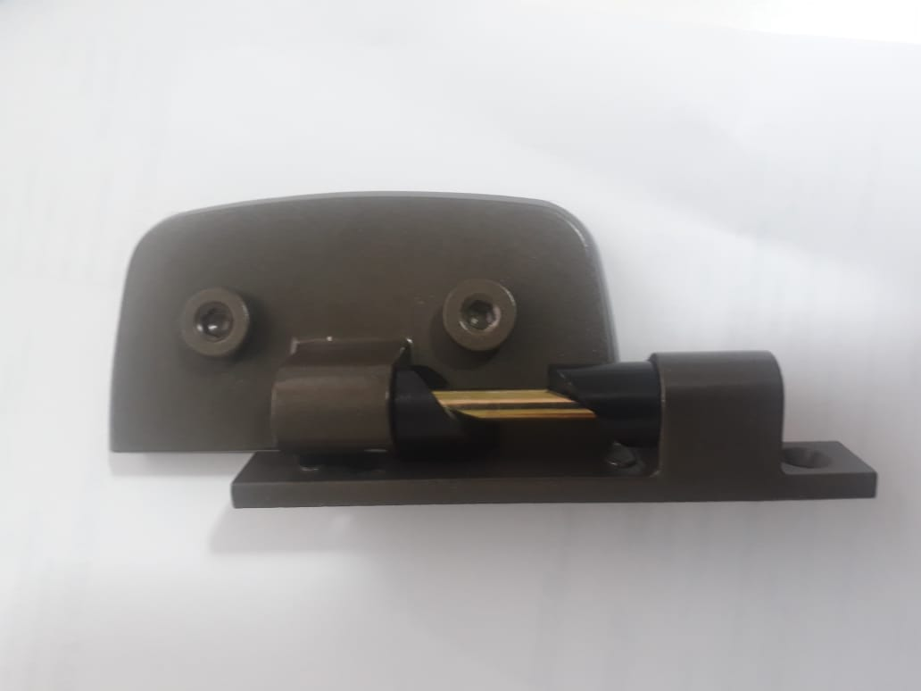 Dobradiça automática para box 1114 bronze 2un