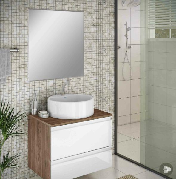 Espelho Autoadesivo Retangular 40x60cm prata