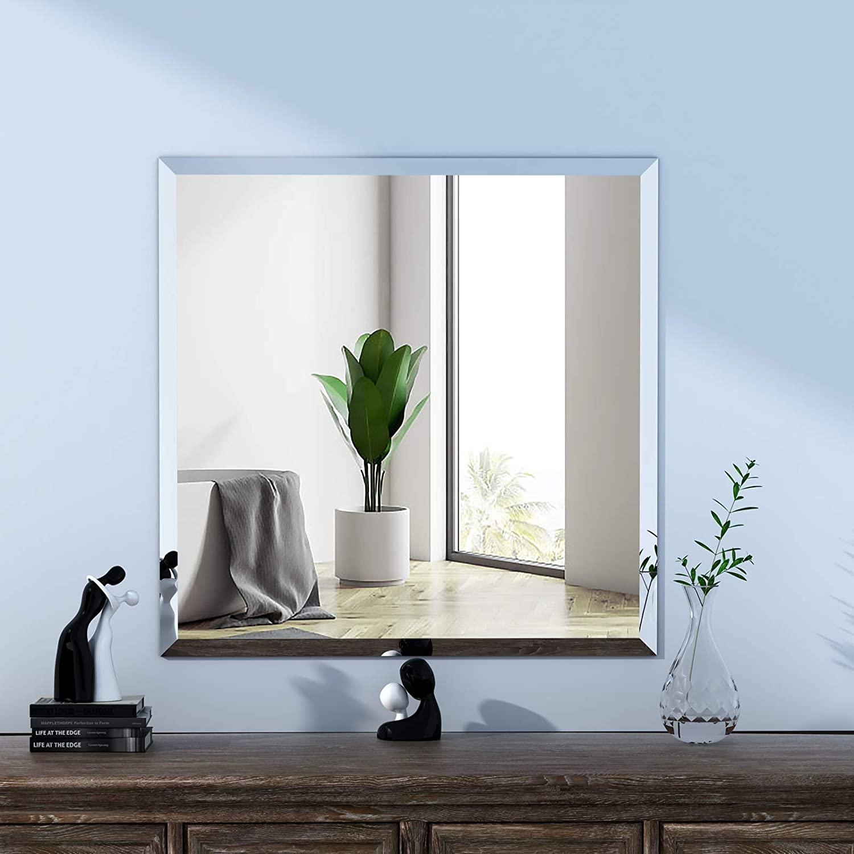 Espelho banheiro lapidado Bisotê 30x30cm