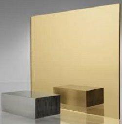 Espelho banheiro lapidado Bisotê 40x60cm Bronze Com Pendurador