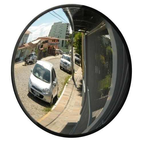 Espelho Convexo Condomínio Estacionamento Garagem emborrachado 50cm