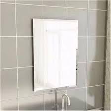 Espelho Lapidado Com Bisotê - 40x40cm