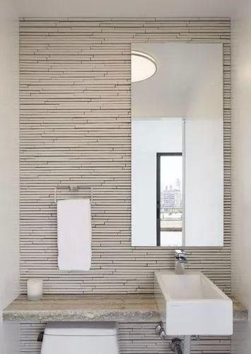Espelho Lapidado Com Bisotê - 40x50cm