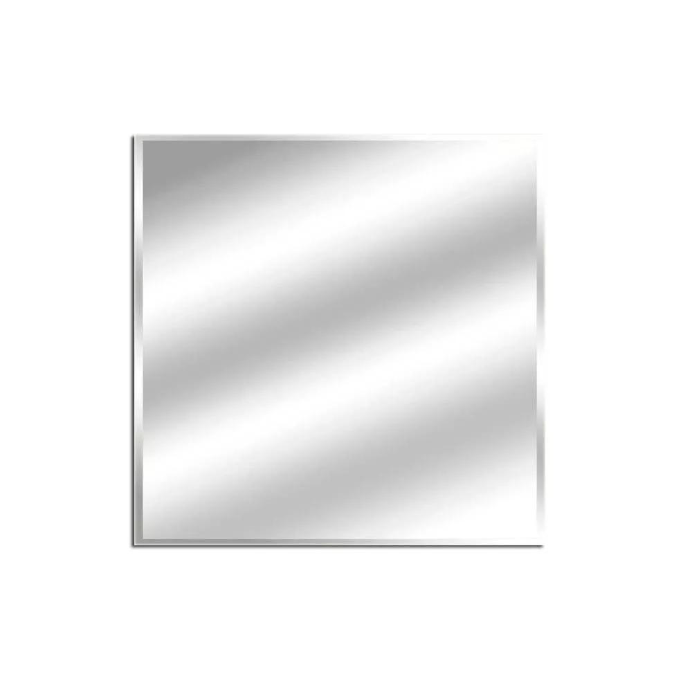 Espelho Lapidado Com Bisotê - 50x50cm