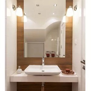 Espelho Lapidado Com Bisotê - 70 x 90cm