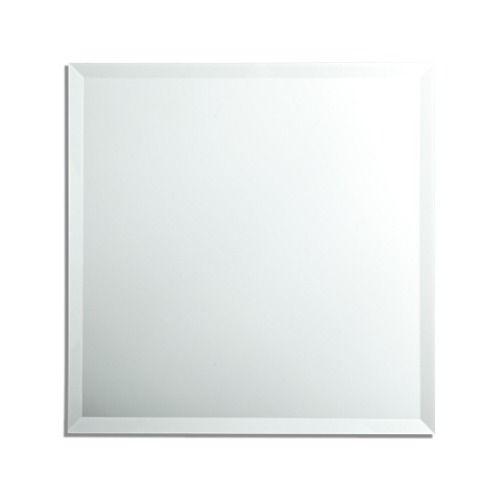 Espelho Multiuso Bisotê 30cm X 30cm Com Dupla Face