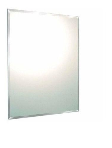 Espelho banheiro lapidado Bisotê 40x40cm Com Pendurador