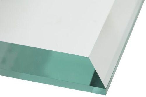 Espelho Multiuso Bisotê 50cm X 50cm Com Dupla Face