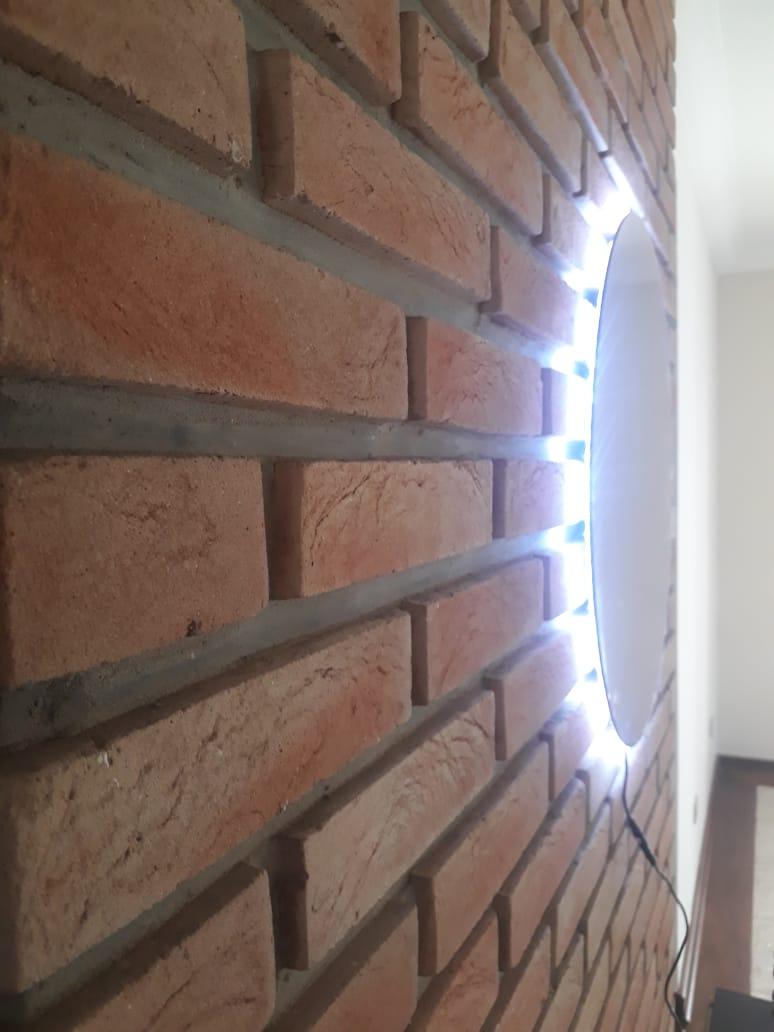Espelho com LED Redondo 40cm