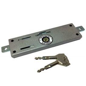 Fechadura para porta de aço Polyforte chave tetra