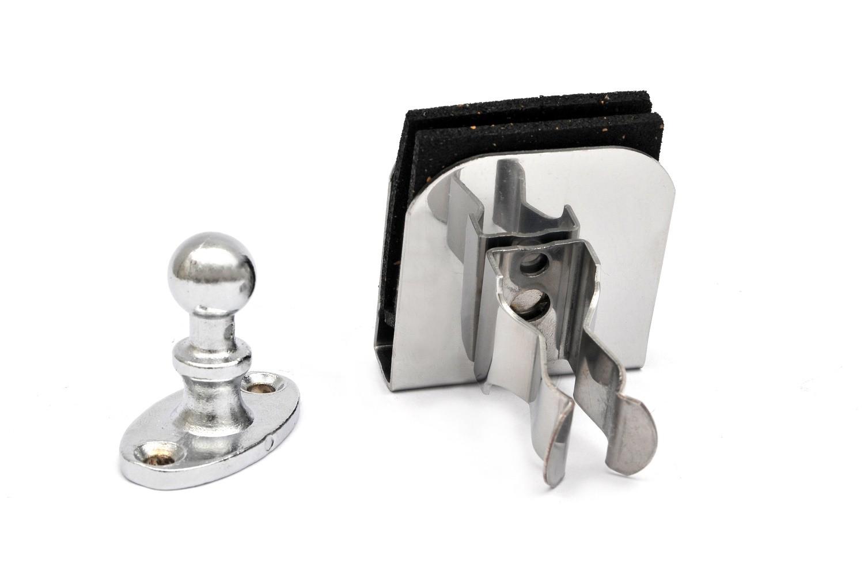 Fixador de Porta Universal Para Piso ou Rodapé
