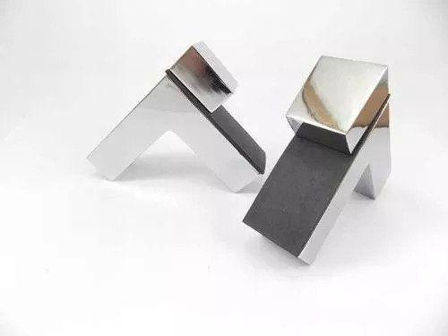 Suporte tucano quadratto para prateleira cromado - 2 unidades