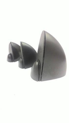 Suporte tucano para prateleira pequeno preto - 2 unidades