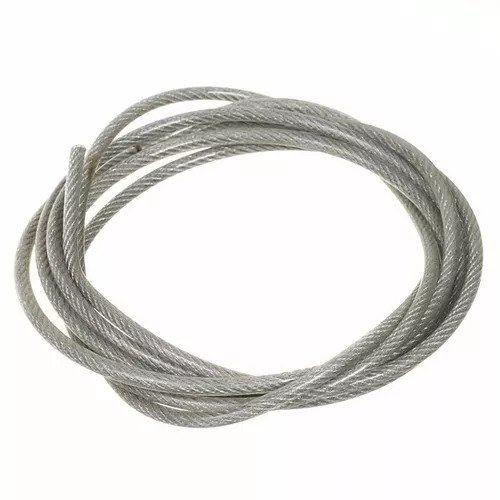 KIT - 2 Esticador / 2 fixador / 2 flange / 5m cabo aço para prateleira suspensa