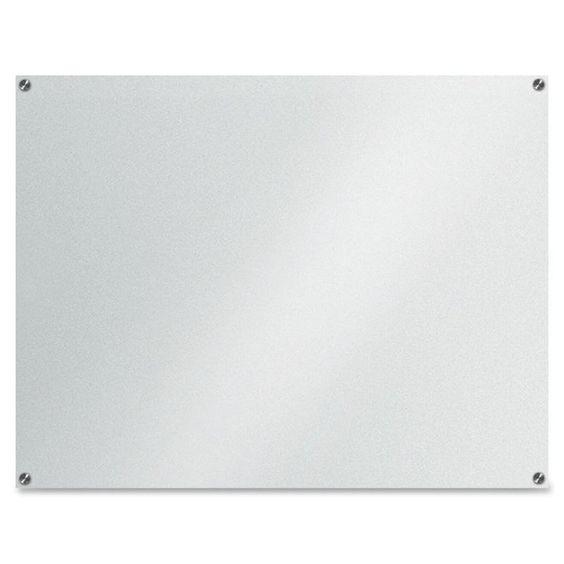 Lousa De Vidro Temperado branca 120x100cm 6mm