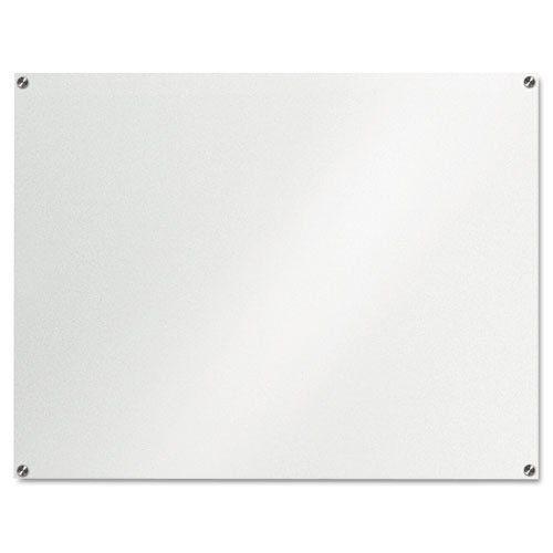 Lousa De Vidro Temperado branca 120x70cm 6mm