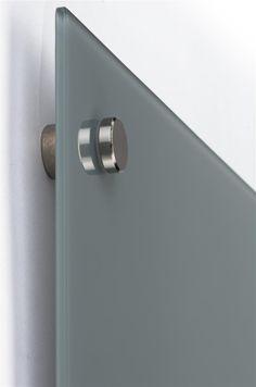Lousa De Vidro Temperado branca 120x80cm 6mm