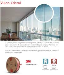 Perfil silicone Vedação De Portas E Janelas De Vidro / 50 Metros