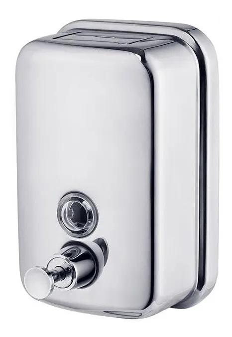 Porta Sabonete líquido saboneteira dispenser 500ml inox