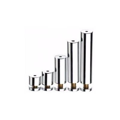 Prolongador de inox escovado 19x100mm - 4 unidades