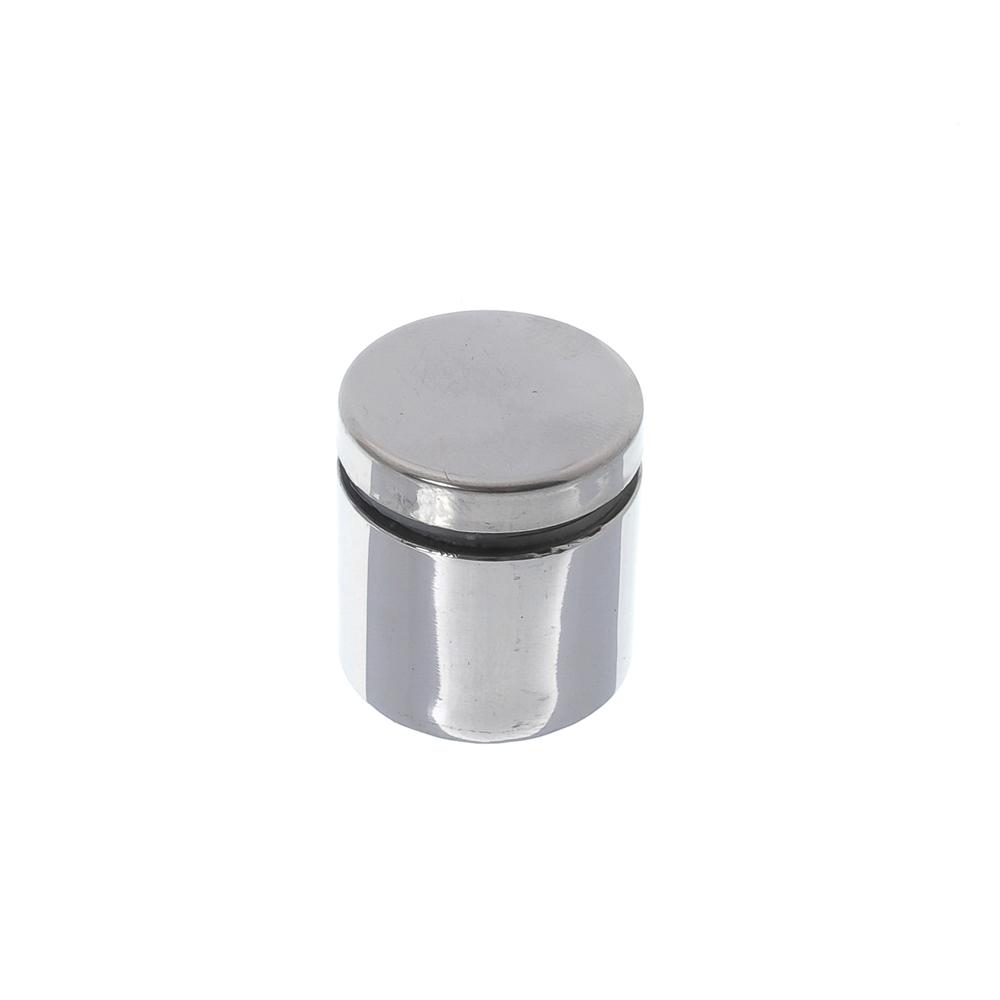 Prolongador de inox polido 25x25mm - 4 unidades