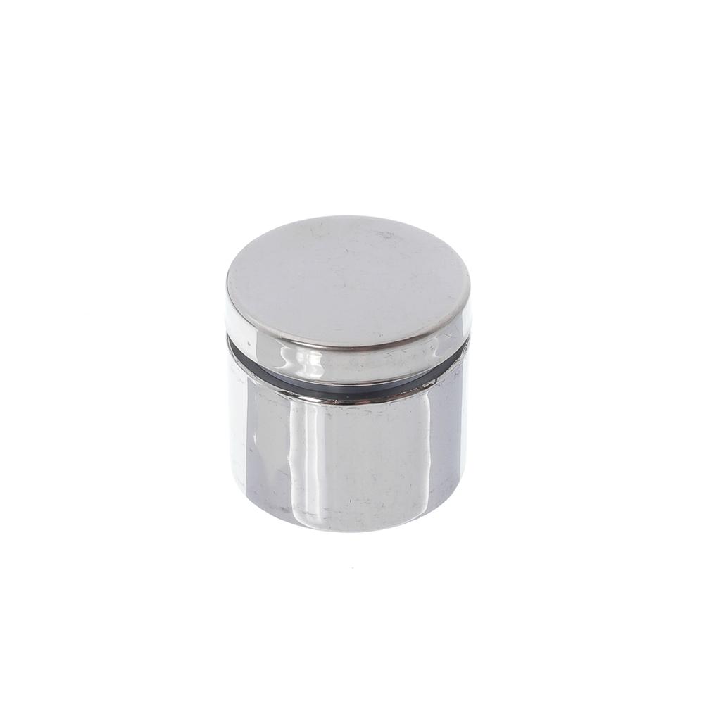Prolongador de inox polido 30x25mm - 4 unidades