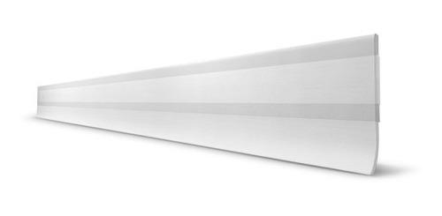 Protetor Veda Porta Slim Borracha 80cm Transparente