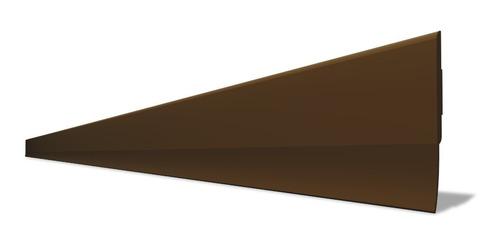 Protetor Veda Porta Slim Borracha 80cm Marrom
