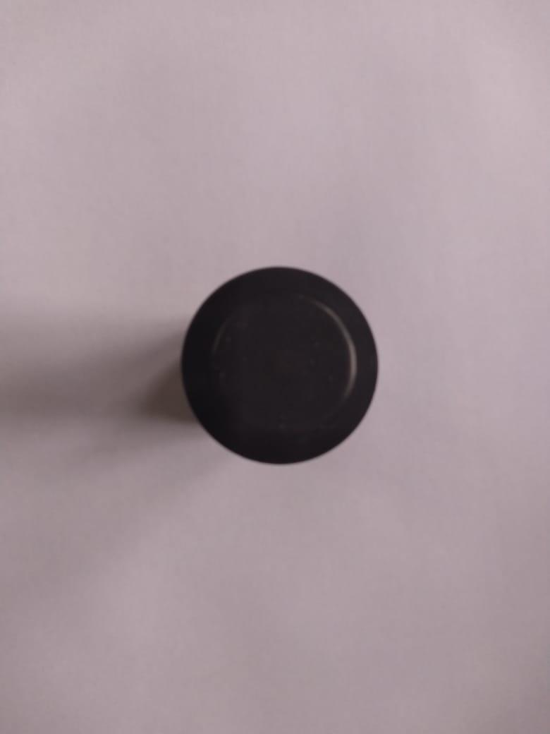 Puxador para box de banheiro ou janela de vidro temperado preto