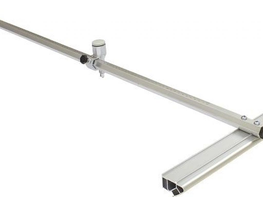 Régua T para corte de chapas de vidros e espelho de 10 a 120cm