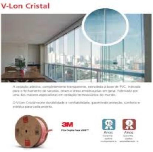 Silicone Vedação Para Fechamento Vidro De Sacada / 50 Metros