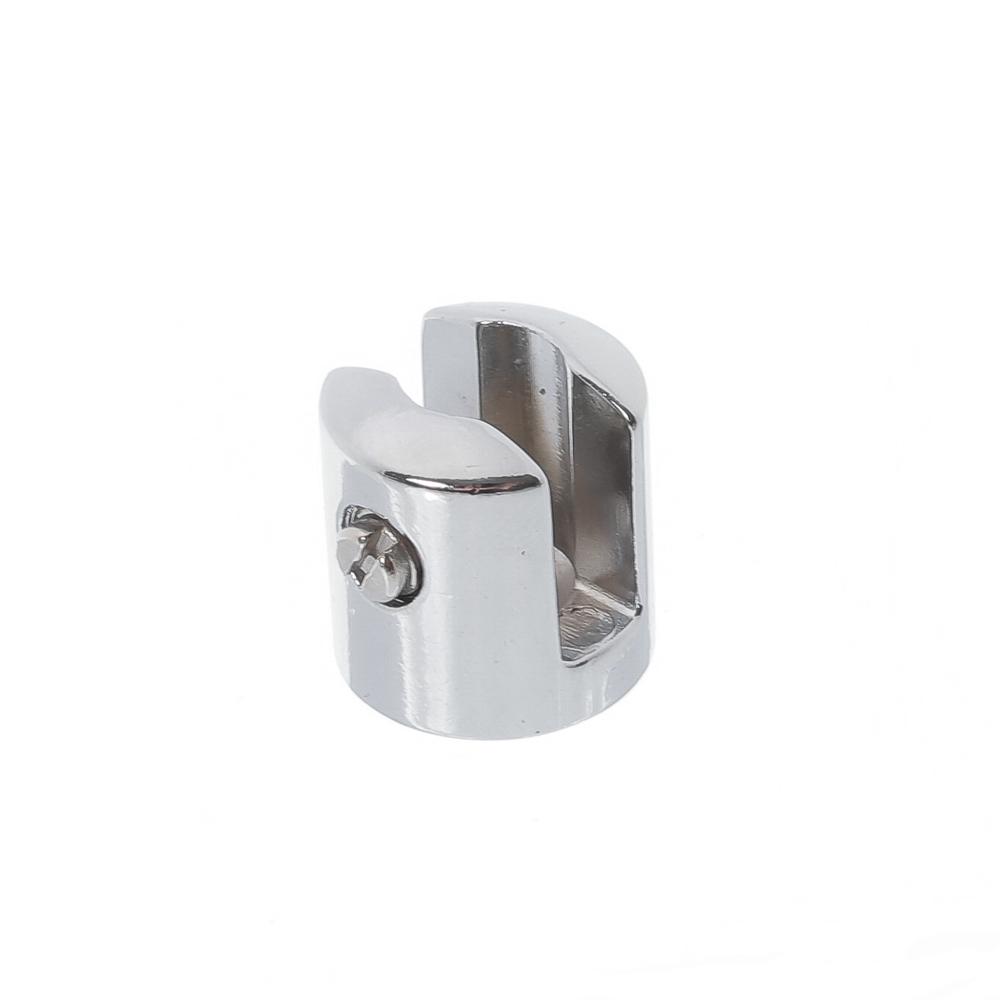 Suporte fenda para prateleira vidro 8mm - 100 unidades