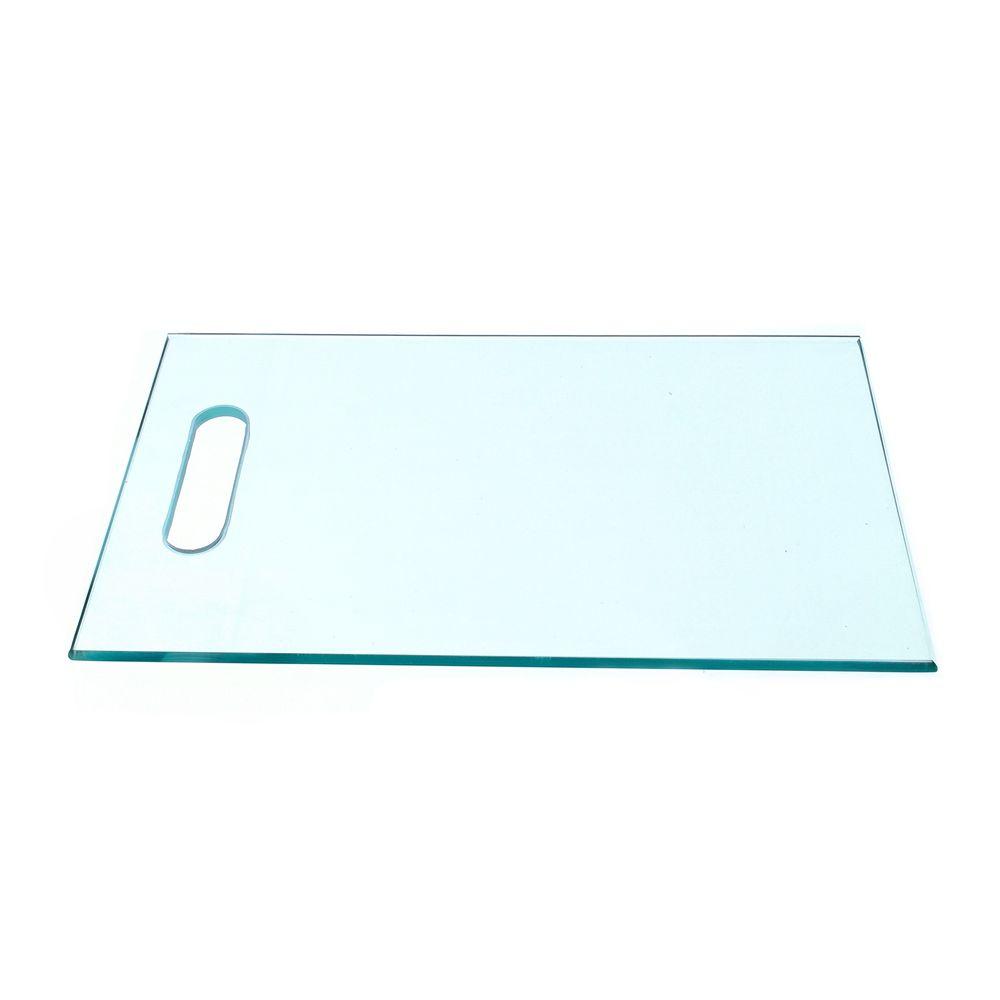 Tábua de vidro temperado 8mm lisa incolor - 100un