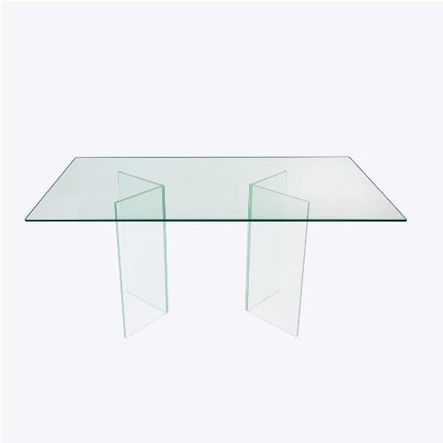 Tampo De Vidro para mesa de jantar 80X150cm 8mm