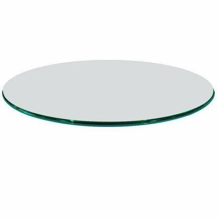 Tampo mesa redondo vidro incolor temperado 1,10m 8mm