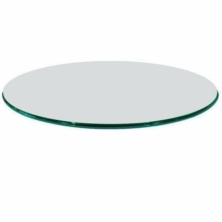 Tampo mesa redondo vidro incolor temperado 60cm 8mm