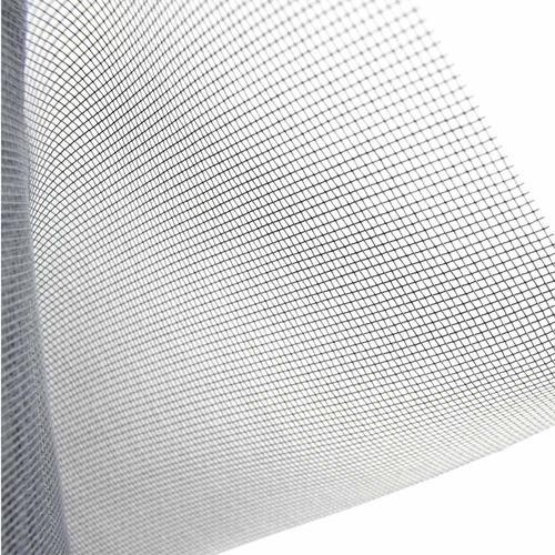 Tela mosquiteira anti-inseto para janelas nylon cinza 100x5 metros