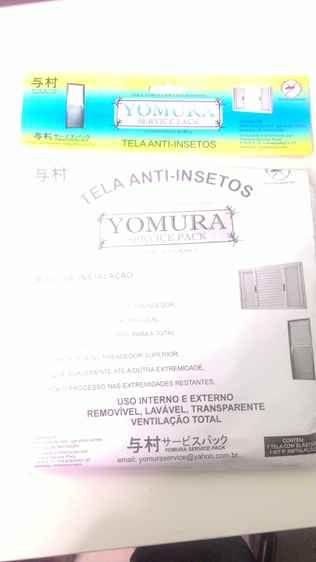 Tela mosquiteira anti-inseto para janelas Yomura 100x200cm