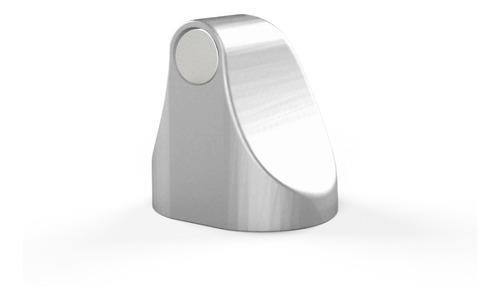Trava Porta Magnético Cor Prata Comfortdoor Com Imã