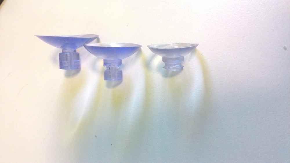 Ventosa silicone 20mm - 10 unidades