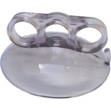 Ventosa manual de silicone com pegador 3 dedos - 2 unidades