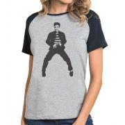 Camiseta Fem Raglan Elvis Presley  ES_010
